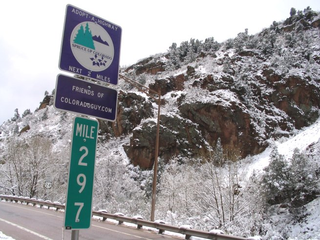Adopt a Highway Colorado