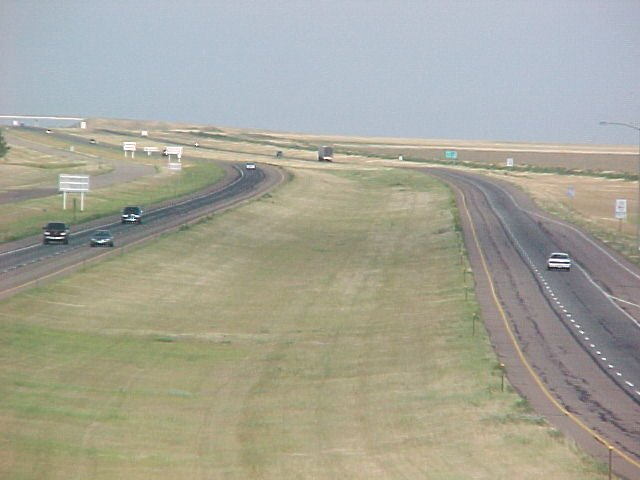 Interstate 70 in Eastern Colorado