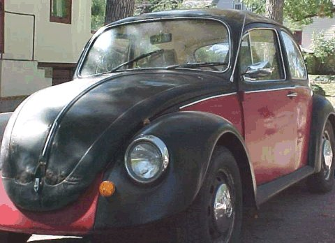 1968 Vw Bug Pictures Emma S Black And Red Vw Bug Photos