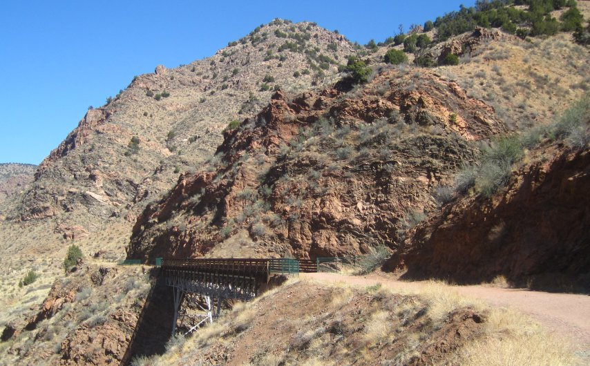 Tunnel Drive Trail Easy And Scenic Hike In Canon City