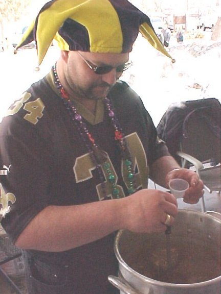New Orleans Saints Fan