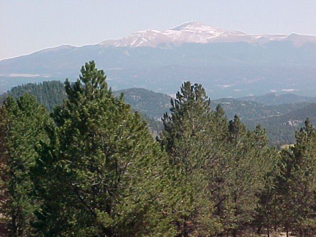 Colorado Mountain Scenery