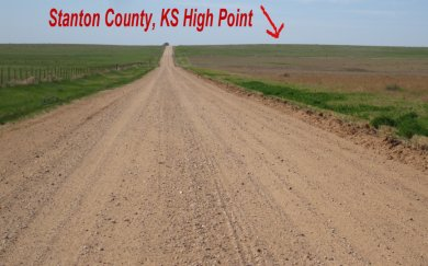 Stanton County, KS High Point