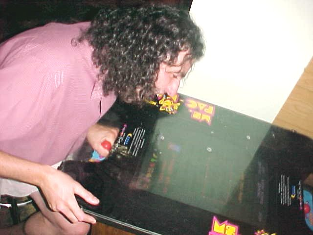 Ms. Pac Man Player