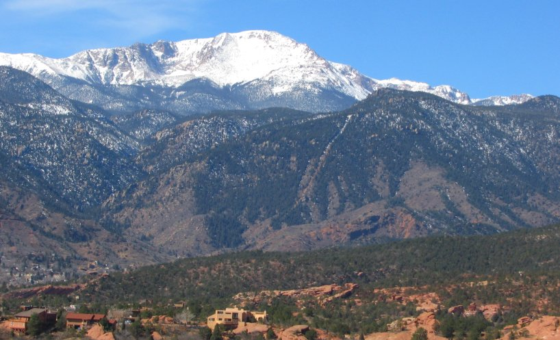 Pikes Peak and Manitou Incline