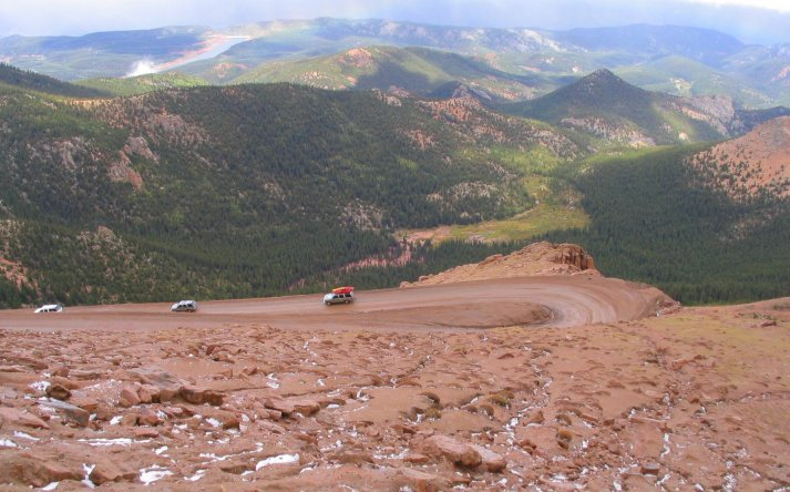 Pikes Peak Highway Colorado