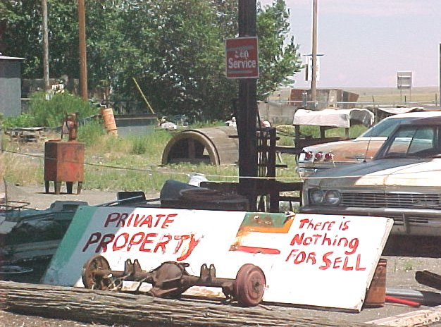 Junkyard Not For Sale