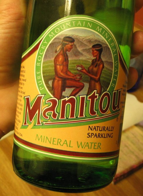 Manitou Mineral Water Bottle