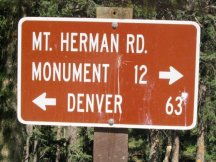 Mt. Herman Road