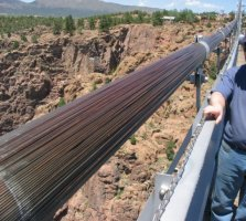 Royal Gorge Bridge Cables