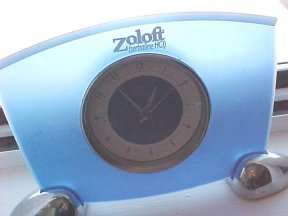 Zoloft Desk Clock