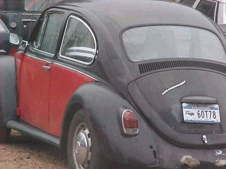 1968 VW Bug Pictures - Emma's Black and Red VW Bug (Photos