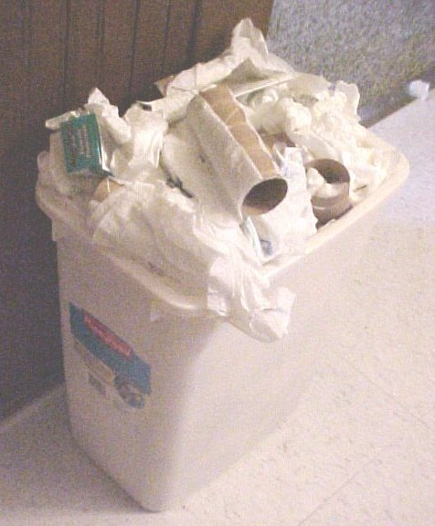 Trash Bins Overflow With Garbage At ColoradoGuy Home